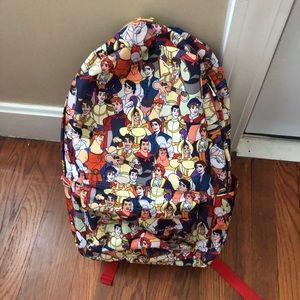 Disney prince backpack